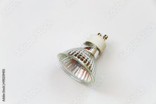Obraz halogen lamp, transparent - fototapety do salonu