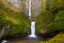 Multnomah Falls By Benson Brid...