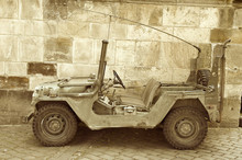 American Military Jeep