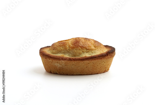 Photo  Traditional in Apulia type of filled Italian pastry, Pasticciotto