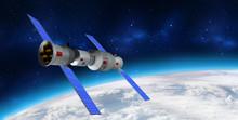 3D Model Of China's Tiangong-1...