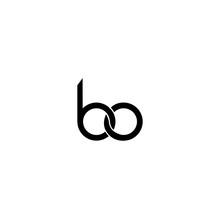 Letter Bo Logo Vector