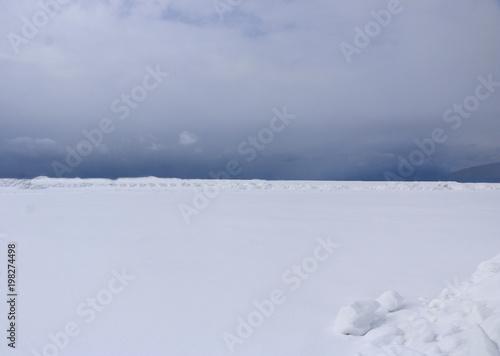 Fotografie, Obraz  snow field