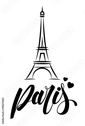 Obraz Paris Tour Eiffel - fototapety do salonu