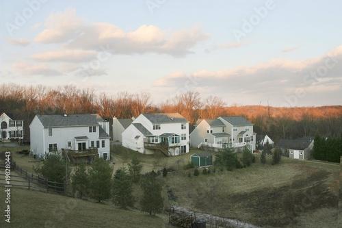 Fototapeta  Common Villa in America obraz na płótnie