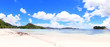 Beautiful sandy beach, Praslin Island, Seychelles