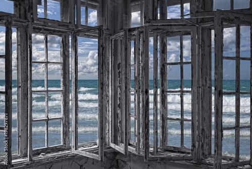 Fotografía Fenster zum Meer