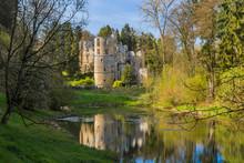 Beaufort Castle Ruins In Luxembourg