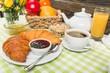 Appetizing Continental Breakfast