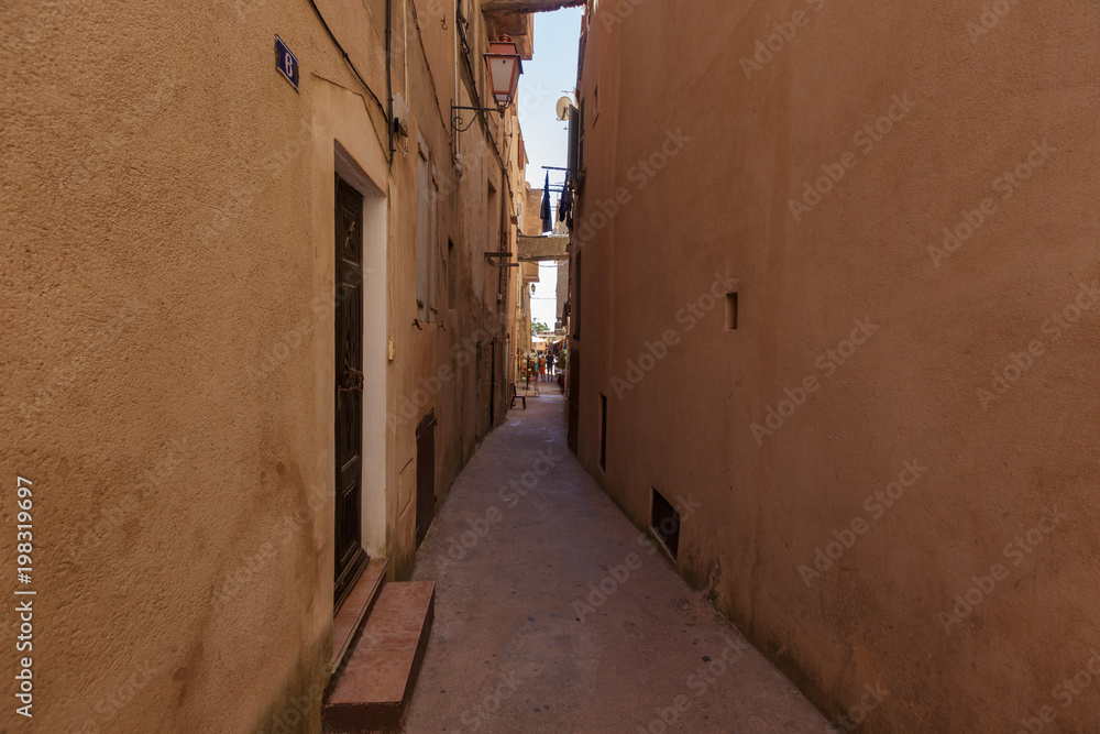 Alley in an old European town