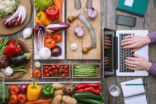 Obraz na plátně  Cooking meets technology