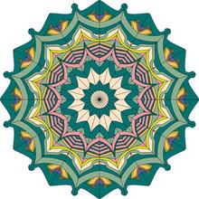 Mandala Lace Pattern, Oriental