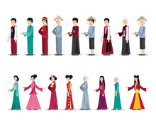 Chinese Culture People Characters