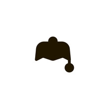 Hat Icon. Sign Design