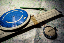 Navigation Tools Of Pilot
