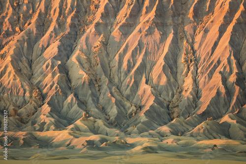 Fotobehang Grijs Amazing landscape in the Utah desert, USA.