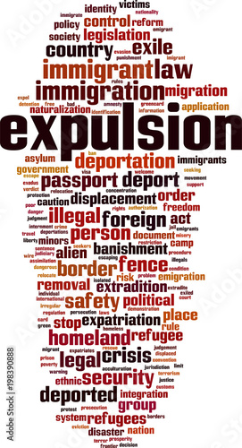 Photo Expulsion word cloud