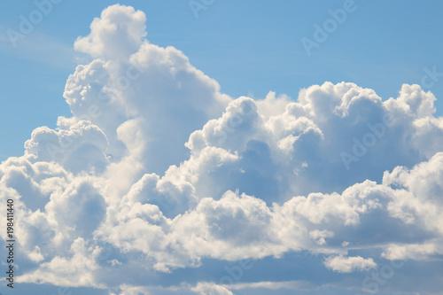 Obraz Puffy White Cumulus Clouds - fototapety do salonu