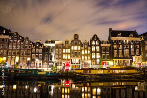 Photo  Beautiful night in Amsterdam
