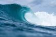 canvas print picture - Blue wave