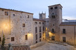 historical city center of Caceres monumental city in Extremadura, spain