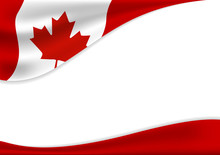 Canada Day Banner Background D...