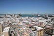 View of the ancient sea city of Cadiz from the Cathedral of the Holy Cross.