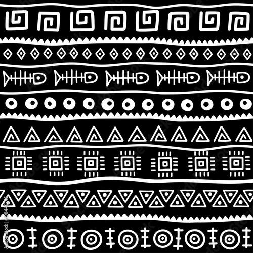 bezszwowy-wzor-w-etnicznym-stylu-element-dekoracyjny-motyw-afrykanski-zestaw-bezszwowe-rocznika-ozdobny-granicy-plemiennych-tradycyjne-afrykanskie-tlo-wzor-z-plemiennych-elementow-formy