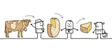 Cartoon Characters - Cheese Pr...