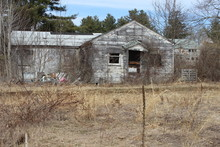 Old Abandoned Farm House Cabin...