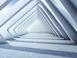 Fototapeta Fototapety przestrzenne i panoramiczne - Modern concrete hall