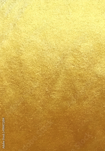 Photo  Vector golden foil background