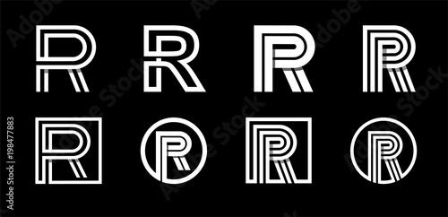 Photo  Capital letter R