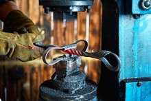 Forging Press. Manufacturer Of Wrought Iron Decorative Items For Pneumatic Forging Machine