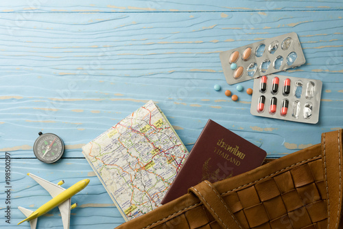 Fotografia  travel and medication