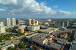 Aerial image West Palm Beach Downtown