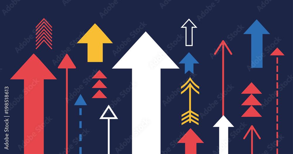 Fototapeta Growth-illustration6