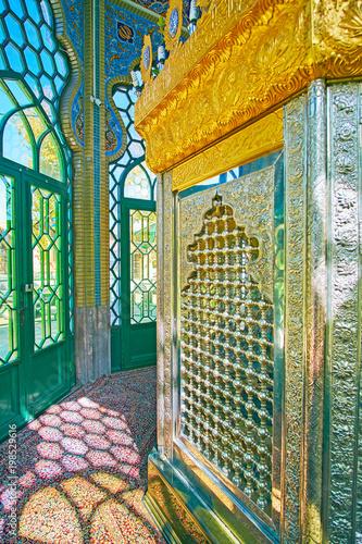 Fototapeta In Shrine of Rayen, Iran