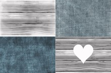Set Of Homely Grey Indigo Abstract Background, Material Surface Copyspace Design.