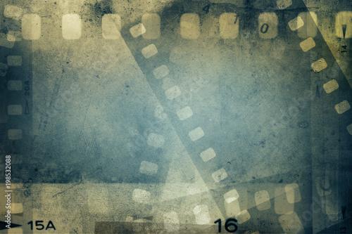 Photo  Film frames background