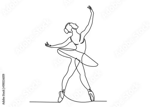 dance ballet Fototapete