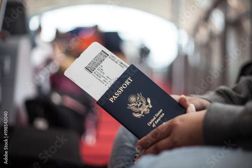 Photo  American Passport