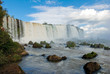 Iguacu Falls, Brazil, the largest in the world in volume of water, ideal for adventure tourism, one of the natural wonders of the world