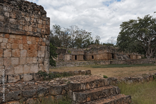 Poster Ruine Labna,Mesoamerican archaeological site and ceremonial center of the pre-Columbian Maya civilization, Yucatan, Mexico