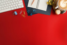 Styled Stock Photography Red O...