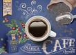 Black coffee ads