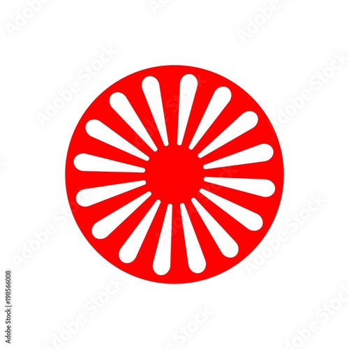 Photo  International Romani Day Vector Template Design Illustration