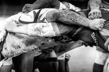 Mêlée De Rugby à
