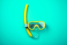 Snorkeling Mask And Tube