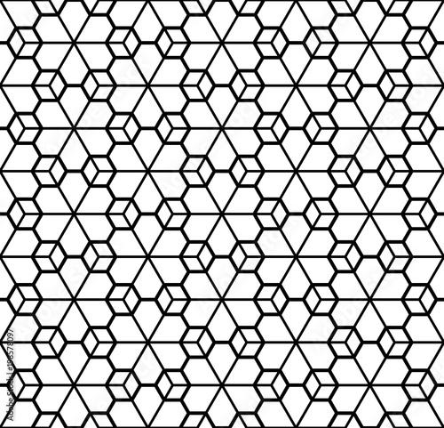 prosty-bezszwowy-geometryczny-ornament-w-czarny-i-bialy-sylwetce
